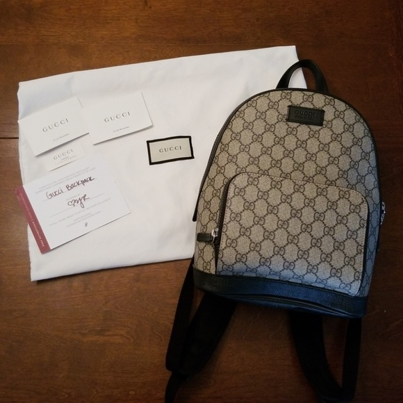 f03d6006e90a Gucci Handbags - Gucci GG Supreme Small Backpack